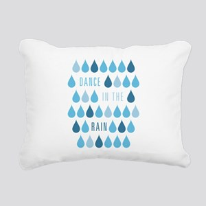 Dance In The Rain Rectangular Canvas Pillow