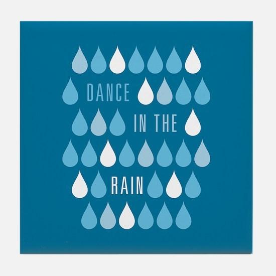 Dance In The Rain Tile Coaster