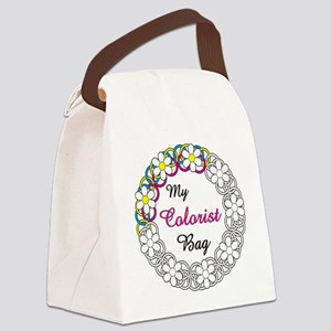 Colorist Canvas Lunch Bag