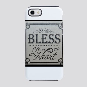 well bless your heart iPhone 8/7 Tough Case