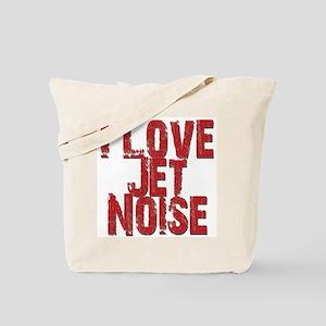 I Love Jet Noise Tote Bag