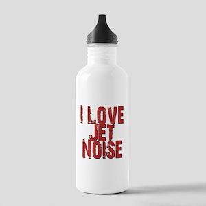 I Love Jet Noise Water Bottle