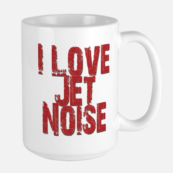 I Love Jet Noise Mugs