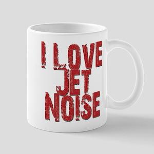 I Love Jet Noise Mugs
