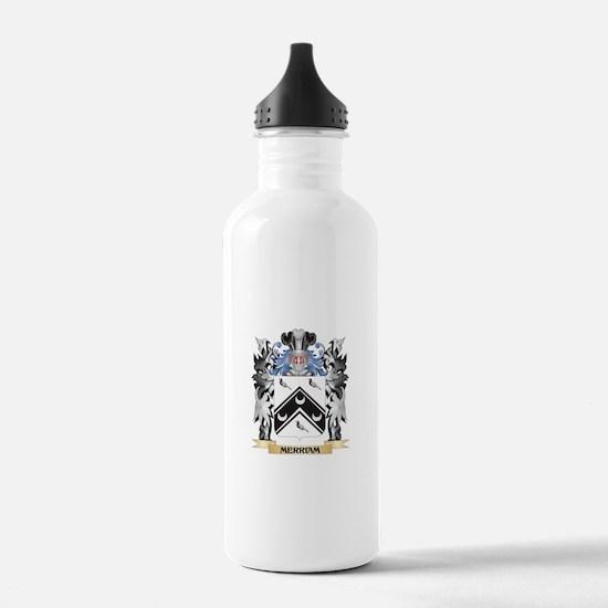 Merriam Coat of Arms - Water Bottle