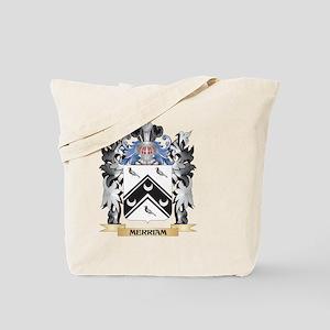 Merriam Coat of Arms - Family Crest Tote Bag