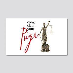 Claim Your Prize Car Magnet 20 x 12