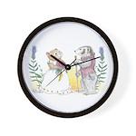 The Couple Wall Clock