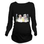 The Couple Long Sleeve Maternity T-Shirt