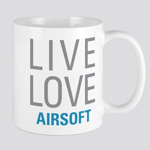 Live Love Airsoft Mugs