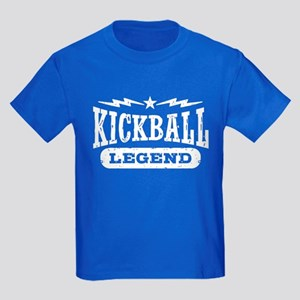 Kickball Legend Kids Dark T-Shirt