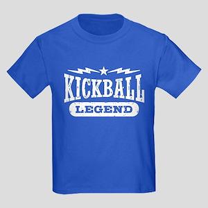 Kickball Legend Kids Dark T-Shirt