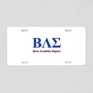 BAE Aluminum License Plate