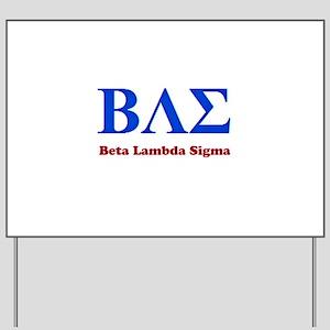 BAE Yard Sign