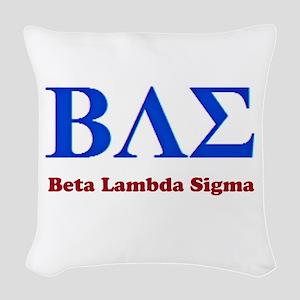 BAE Woven Throw Pillow