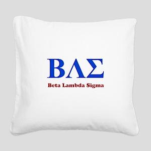 BAE Square Canvas Pillow