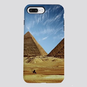 Egyptian Pyramids and C iPhone 8/7 Plus Tough Case
