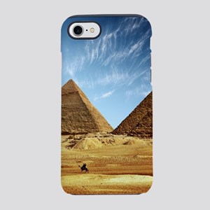 Egyptian Pyramids and Camel iPhone 8/7 Tough Case