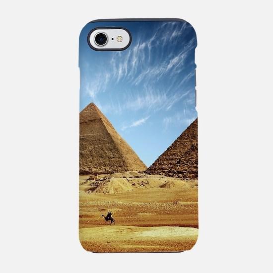 Egyptian Pyramids and Camel iPhone 8/7 Tough Case