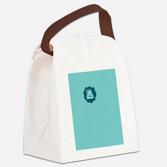 Bright Travel Birthday Canvas Lunch Bag