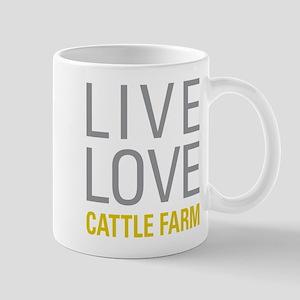 Live Love Cattle Farm Mugs