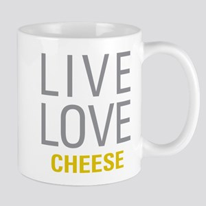 Live Love Cheese Mugs