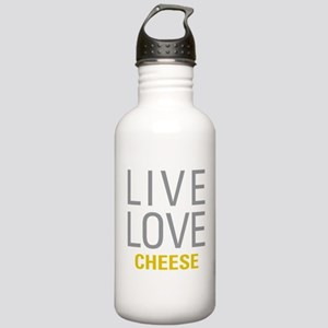 Live Love Cheese Stainless Water Bottle 1.0L