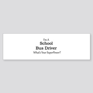 School Bus Driver Bumper Sticker