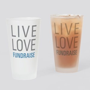 Live Love Fundraise Drinking Glass