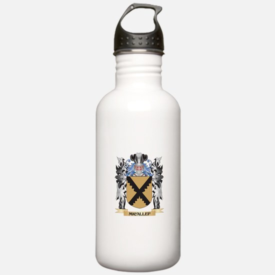 Micallef Coat of Arms Water Bottle