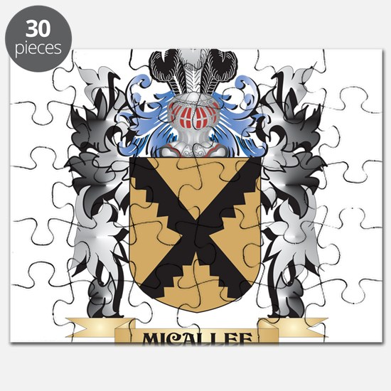 Micallef Coat of Arms - Family Crest Puzzle