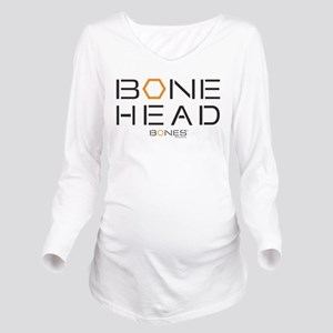 Bones Bone Head Long Sleeve Maternity T-Shirt