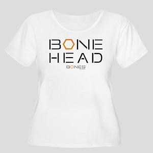 Bones Bone He Women's Plus Size Scoop Neck T-Shirt