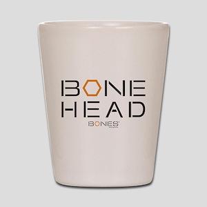Bones Bone Head Shot Glass
