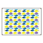 unicornfish tang surgeonfish pattern Banner