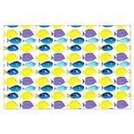 unicornfish tang surgeonfish pattern Posters