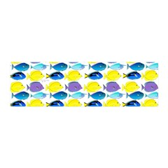 unicornfish tang surgeonfish pattern Wall Decal