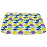 unicornfish tang surgeonfish pattern Bathmat