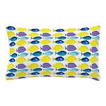 unicornfish tang surgeonfish pattern Pillow Case