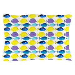 unicornfish tang surgeonfish pattern Pillow Case