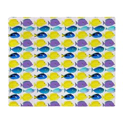 unicornfish tang surgeonfish pattern Throw Blanket