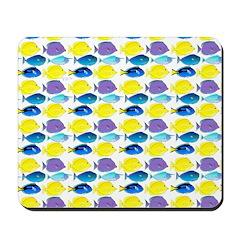 unicornfish tang surgeonfish pattern Mousepad