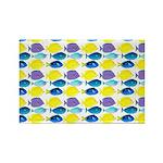 unicornfish tang surgeonfish pattern Magnets