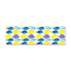 unicornfish tang surgeonfish pattern Car Magnet 10