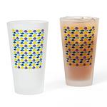unicornfish tang surgeonfish pattern Drinking Glas