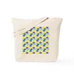 unicornfish tang surgeonfish pattern Tote Bag