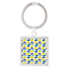 unicornfish tang surgeonfish pattern Keychains