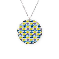 unicornfish tang surgeonfish pattern Necklace