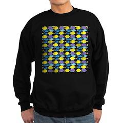 unicornfish tang surgeonfish pattern Sweatshirt