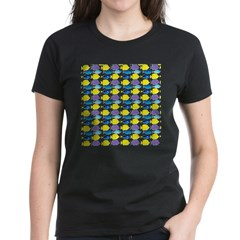 unicornfish tang surgeonfish pattern T-Shirt